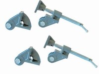 Set of clamps dormant heads
