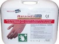 kit de recuperation de doigts et mains coupés